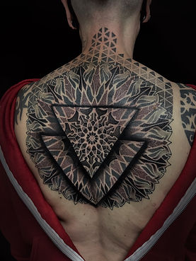 amazing dotwork tattoos, best dotwork in london, best tattoo studio near me, best geometric tattoo artists in london, best dotwork in brighton, best geometric artists in brighton, mandala tattoos, 3d geometric tattoos, divine canvas tattoo artists, custom tattoo artists in london, custom tattoo artists in brighton, dotwork in london, dotwork in brighton, mandala tattoo artists, amazing 3d geometric tattoos, geometric back tattoos, dotwork back tattoos, tattooed women, deity tattoo, private tattoo studios in london
