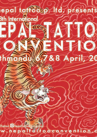 Divine Canvas, Angel Rose, Deity Tattoo, Dotwork tattoo in london, Geometric Tattoo in London, Mandala Tattoo, London Tattooist, Nepal Tattoo Convention 2018,
