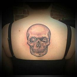 skull tattoos, dotwork tattoo, dotwork skull tattoo