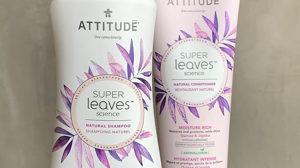 Shampoo y Acondicionador Natural - Hidratación Intensa 473ml