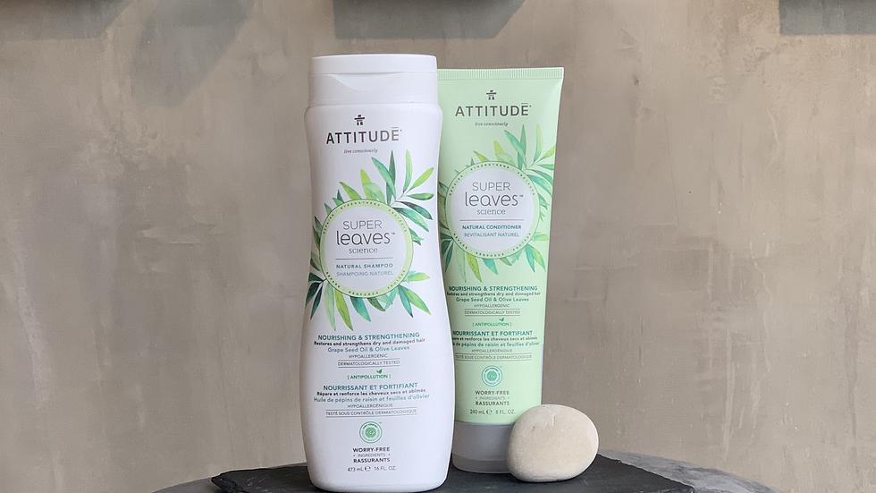 Shampoo y Acondicionador Natural - Nutre y Fortalece 473ml c/u