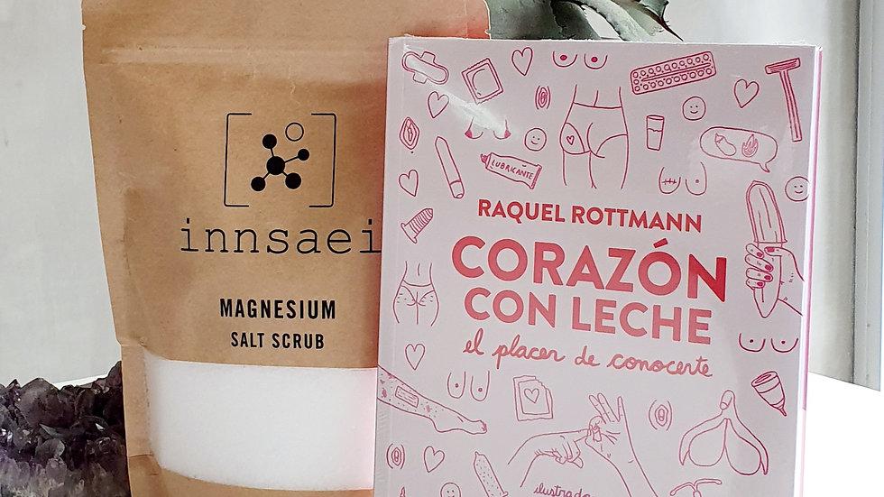 """""""A Book & A Bath"""": Corazón con Leche"""