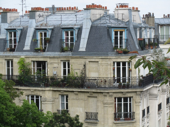 Ode of a Mansard Roof