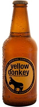 yellow donkey beer santorini