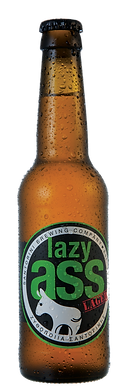 LAZY ASS a refreshing, fruity & spicy Lager