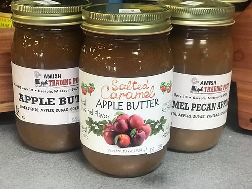 Amish Apple Butter - Various Flavors
