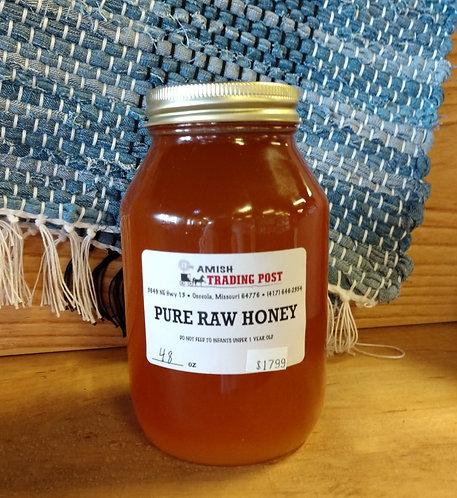 Pure Raw Honey - 48oz