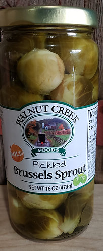 Brussel Sprouts  Mild  Pickled