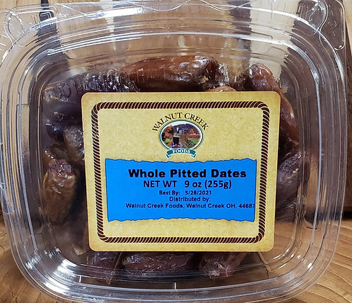 Dates   Whole Pitted
