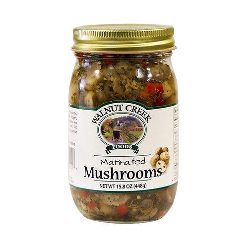 MUSHROOMS - MARINATED