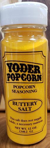Popcorn Seasoning   Buttery Salt