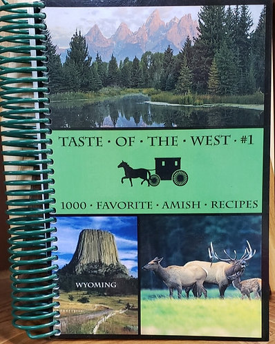 Taste of the West Cookbook  #1