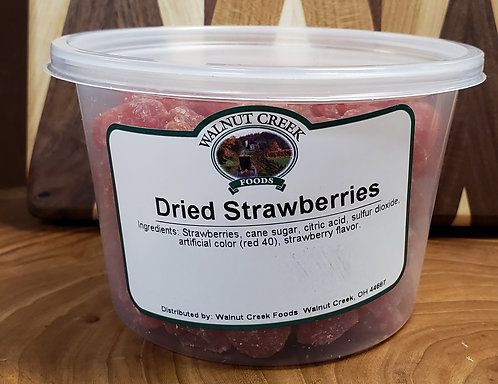 Strawberries  Dried