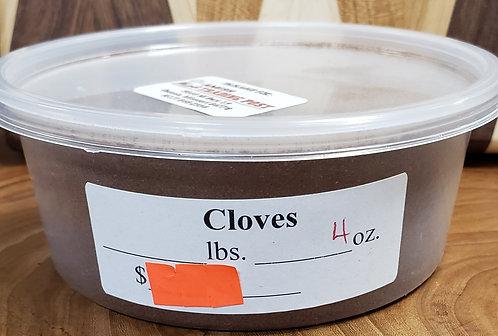 Cloves (ground)