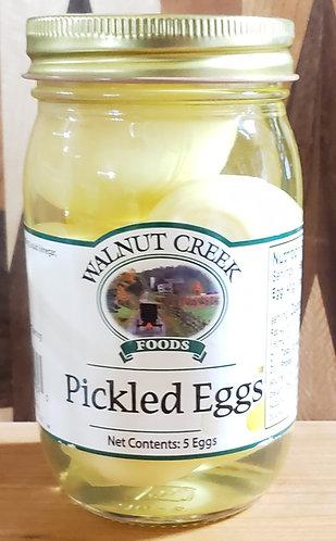 Pickled Eggs  5 eggs