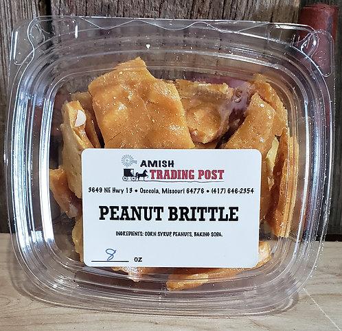 PEANUT BRITTLE  Amish Homemade!