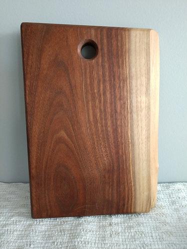 Live Edge Cutting Board - Medium size approx 10x12