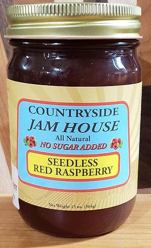 Red Raspberry Seedless no sugar added Jam