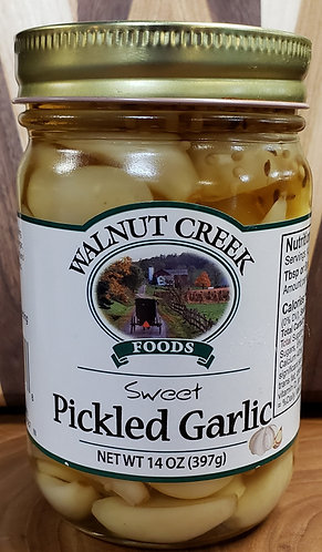 Pickled Garlic  (Sweet)