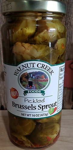 Brussel Sprouts  Hot  Pickled