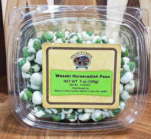 Wasabi Horseradish Peas