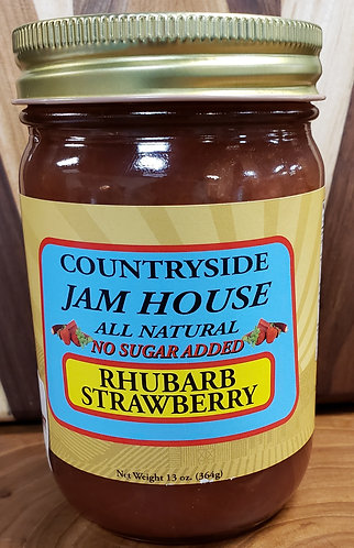 Rhubarb/Strawberry no sugar added Jam