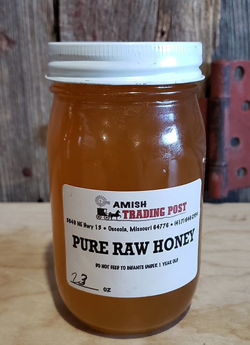 Pure Raw Honey - 23oz
