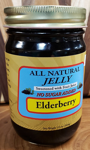 Elderberry no sugar added Jelly