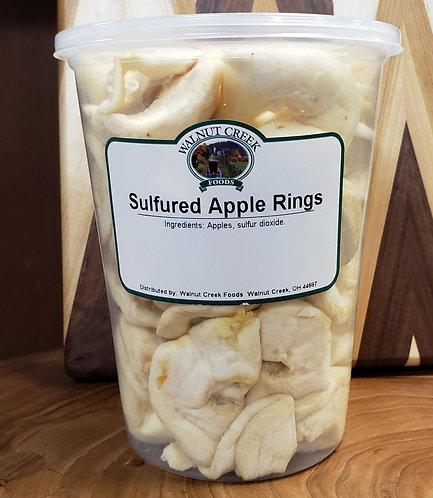 Apple Rings  Sulfured