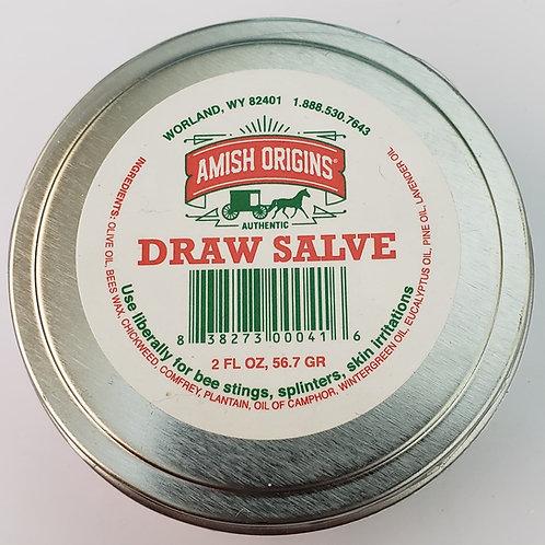 Authentic Amish Draw Salve