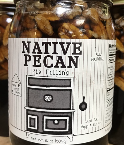 PIE FILLING  Native Pecan