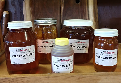 Pure Raw Honey - 23oz with comb