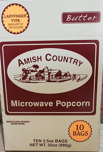 Popcorn  Ladyfinger Type  (Microwavable)