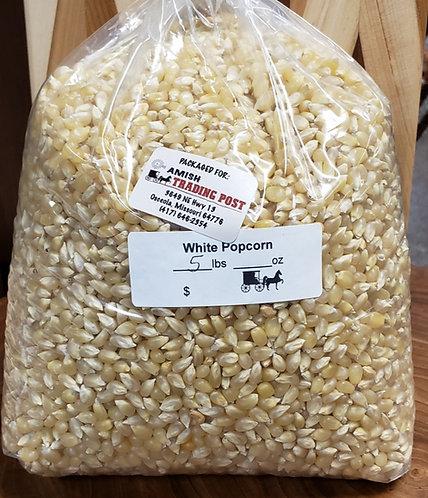 Amish Popcorn  White