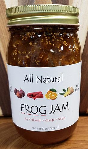 FROG JAM ( fig, Rhubarb, Orange, Ginger)
