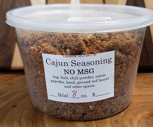 Cajun Seasoning (no msg)