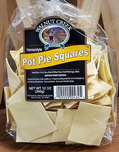 Pot Pie Pasta Squares