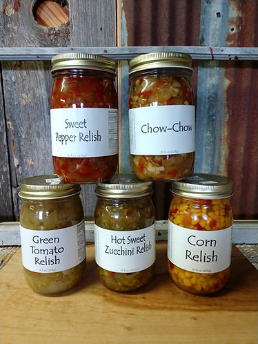 Amish Home-made Relishes