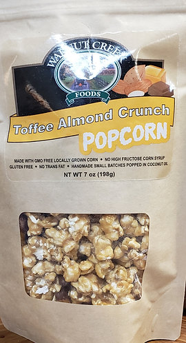 Popcorn Toffee Almond Crunch