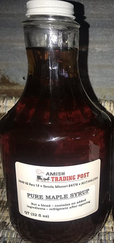 Pure Maple Syrup - 32 oz