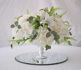 Floral Compote Centrepiece