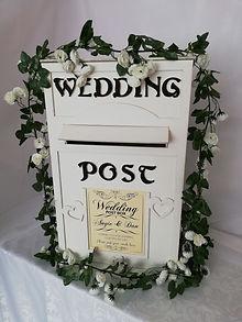 Wooden Post Box