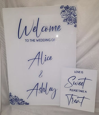 A&A Welcome and Sweet Signs