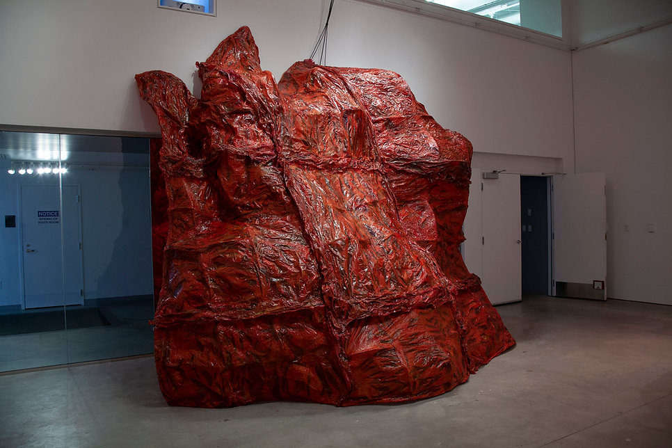 Contemporary sculpture Gut Feeling by Artist Shelby Fleming