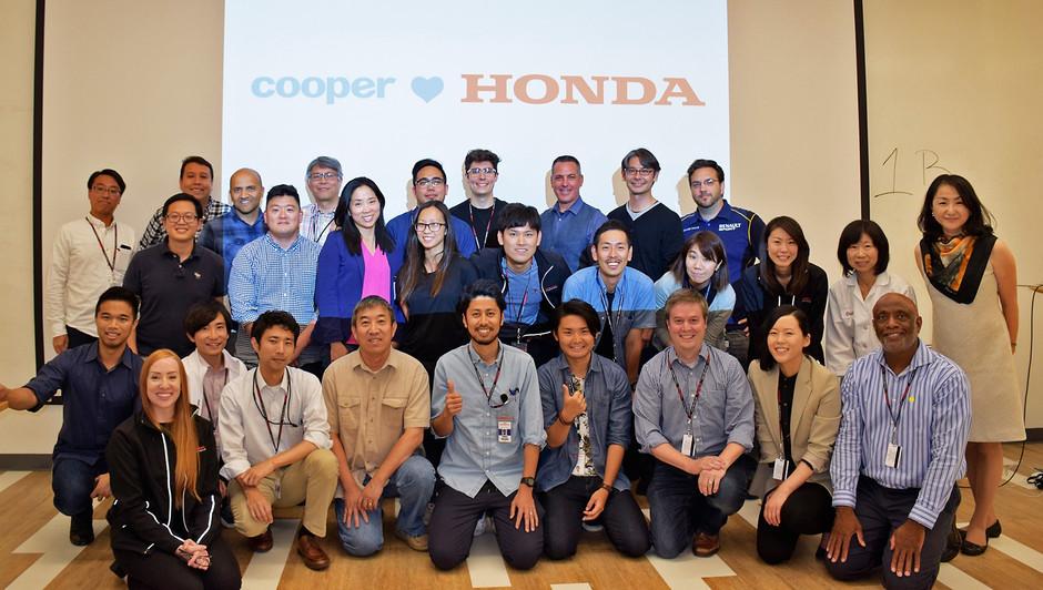 At Honda