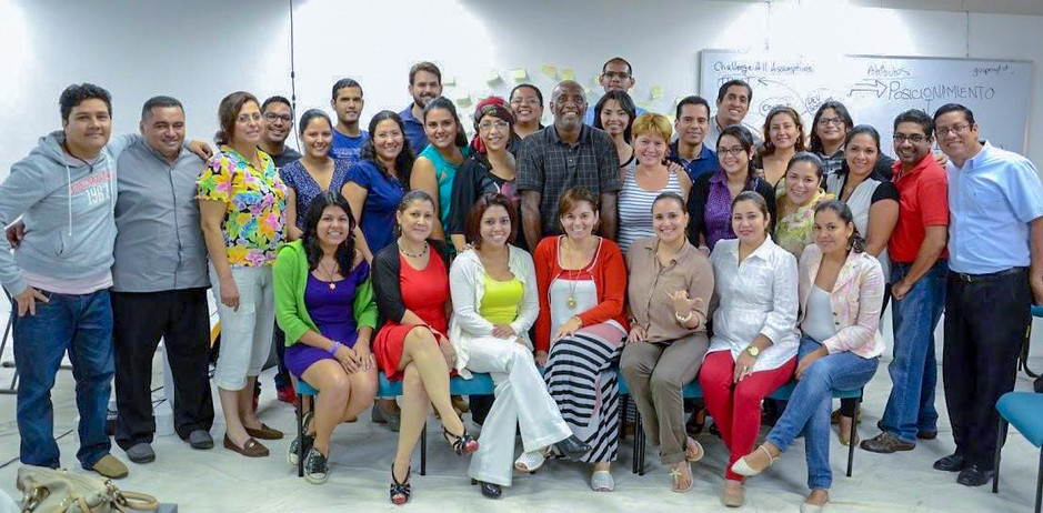 Masters course at Universidad Americana, Managua, Nicaragua