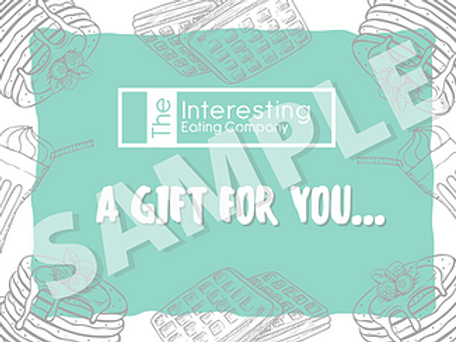 The Interesting Eating Company Gift Card