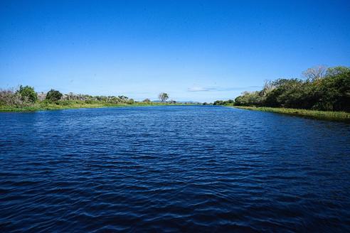 Imensidão do Rio Paraguai