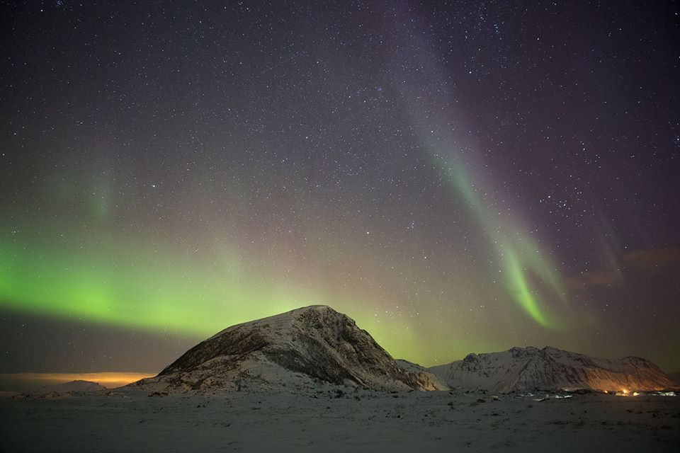 Aurora em Hov