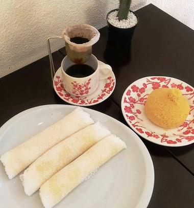 Cuscuz + tapioca